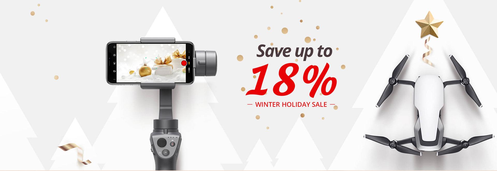 DJI Winter Holiday Sale 2018