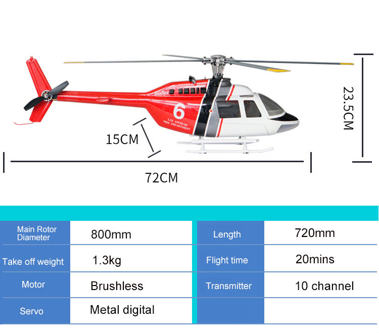 Fly Wing Bell 206