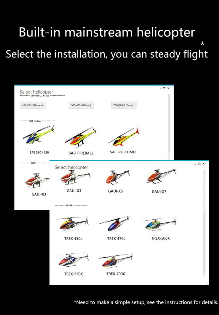 Fly Wing Flight Control H1